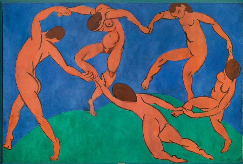 Pintura por Matisse