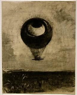 Grabado por Odilon Redon